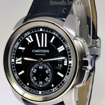 Cartier Calibre 42mm Stainless Steel Mens Automatic Watch...