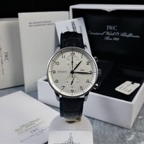 IWC Portugieser Chronograph 3714 / Box & Papers / First Owner