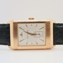 Jaeger-LeCoultre Reverso Art Deco 18k Rose Gold Manual Winding