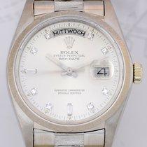 Rolex Daydate 18K Weißgold Day-Date Vintage Diamond Dial 1978