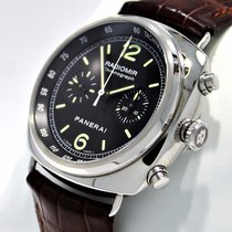 Panerai Radiomir Chronograph 45mm Pam288 Black Dial Watch Auto...