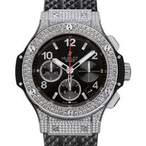 Hublot Big Bang 342.SX.130.RX.174 Black Arabic Diamond Set...