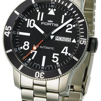 Fortis B-42 Official Cosmonauts Titan Diver Day/Date