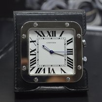 Cartier SANTOS TRAVEL CLOCK WITH ALARM VINTAGE QUARTZ