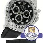 Rolex Daytona Cosmograph 116519 Black Diamond 18K White Gold...