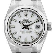 Rolex Datejust 179160 Stainless Steel Ladies Watch