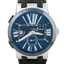 Ulysse Nardin Executive Dual Time GMT, Blue Dial
