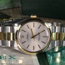 Rolex OYSTER PERPETUAL 34 MM REF. 1002 STEEL AND GOLD FULL SET