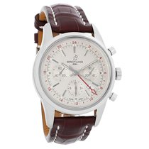 Breitling Transocean Mens Swiss Automatic Chronograph Watch...