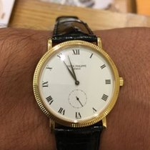 Patek Philippe Calatrava 18 K Yellow Gold Wrist Watch Ref 3919