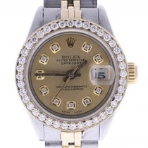 Rolex Datejust Automatic-self-wind Womens Watch 69160 ...