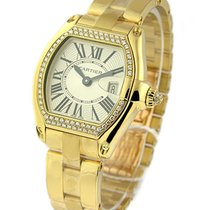 Cartier WE5001X1 Ladys Roadster with Diamond Bezel - Yellow...