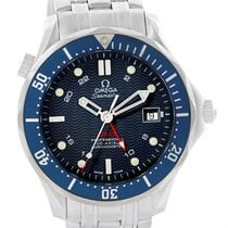 Omega Seamaster Bond 300m Gmt Co-axial Watch 2535.80.00 Box