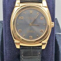 Rolex Cellini Cestello Rose Gold Watch