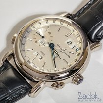 Ulysse Nardin 18k White Gold GMT Perpetual Calendar Automatic...