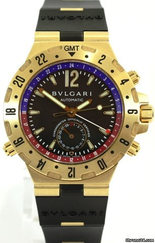 Bulgari Diagono Professional GMT