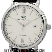 IWC Portofino Collection Portofino Date Steel Silver Dial 40mm...
