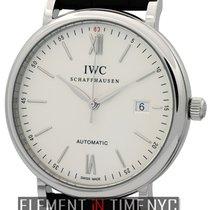 IWC Portofino Collection Portofino Date Steel Silver Dial 40mm