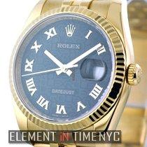 Rolex Datejust Datejust 36mm Black Roman Jubilee  Ref. 116238