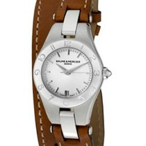 Baume & Mercier  Linea 27mm Silver Dial Steel Case