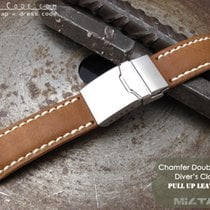 IWC 22mm Pull Up Leather Replacement Band #C1D01