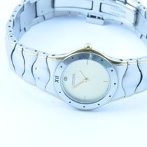 Citizen Damen Uhr Stahl/stahl Quartz 24mm