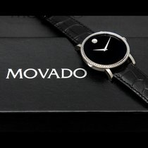 Movado RARE - Movado Red Label 1ct Diamond Bezel