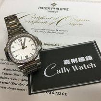 Patek Philippe Cally - 7018/1A-011 Steel Nautilus White Dial...