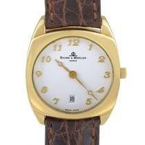 Baume & Mercier Ladies Yellow Gold Watch MOAO6628
