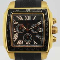 Guess COLLECTION QUARTZ CHRONOGRAPH BLACK RUBBER GC 35503GA