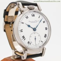 IWC Pocket Watch Conversion To Wrist Watch circa 1912