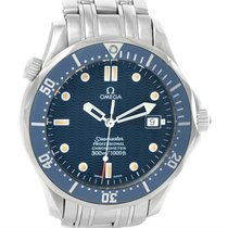 Omega Seamaster Bond Automatic 300m Blue Dial Mens Watch...