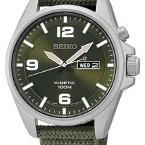 Seiko Kinetic SMY141P1 Herren 42 mm 10 ATM