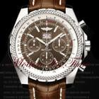 "Breitling BENTLEY MOTORS 6.75 ""BRONZE"" STAINLES..."
