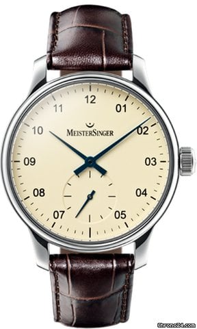 Meistersinger KARELIA SMALL SECONDS - 100 % NEW