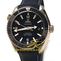 Omega Seamaster Planet Ocean Liquid Metal Blue