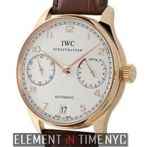 IWC Portuguese Collection 7-Day Power Reserve 18k Rose Gold...