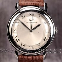 IWC Classic Vintage 1950`s Steel Watch With Roman Numerals...