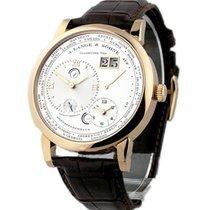 A. Lange & Söhne 116.032 Lange 1 Timezone Mens Mechanical...