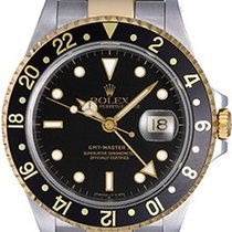 Rolex GMT Master II Men's 2-Tone Watch 16713