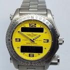 Breitling EMERGENCY MISSION Titanium Yellow 44mm Mens Watch