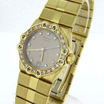 Chopard St. Moritz Damen Uhr 18kt Gold 100gr. Diamanten...