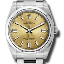 Rolex 116000 wgio Oyster Perpetual No-Date 36mm - Domed Bezel