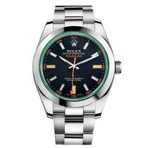 Rolex Milgauss 40 mm Steel 116400 Mens Watch