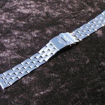 Breitling Chrono Cockpit Pilot 18mm Steel Np 1.360,00 Euro...