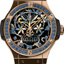 Hublot Big Bang Broderie Skull Gold