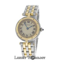 Cartier Mint Ladies Panthere 1057920 Round Vendome Cougar 2...