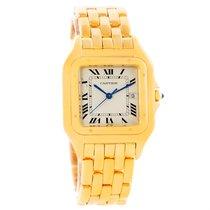 Cartier Panthere Jumbo 18k Yellow Gold Date Watch W25014b9
