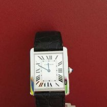 Cartier Tank Solo Big size stainless steel with deplo nice...