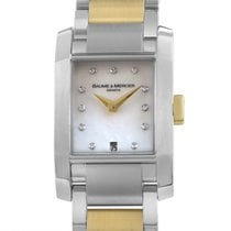 Baume & Mercier Diamant Ladies Stainless Steel &...